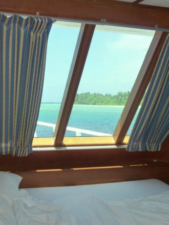 sea sickness cabin