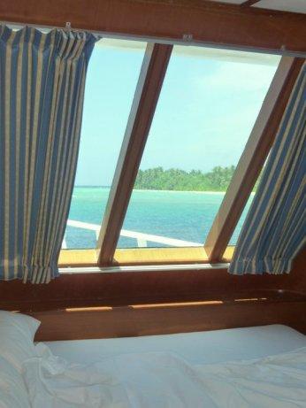 sea sickness cabin